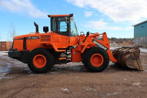 2012 Doosan DL250-3 Wheel Loader Workshop Service Repair Manual