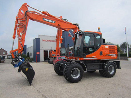 2012 Doosan DX140W-3, DX160W-3 Wheeled Excavator Workshop Service Repair Manual