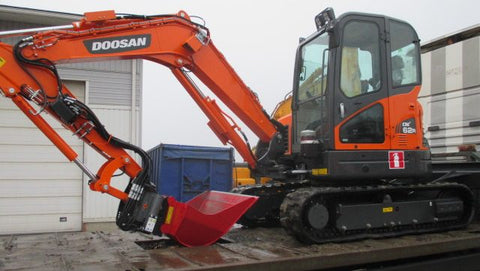 2013 Doosan DX62R-3, DX63-3 Crawled Excavator Workshop Service Repair Manual