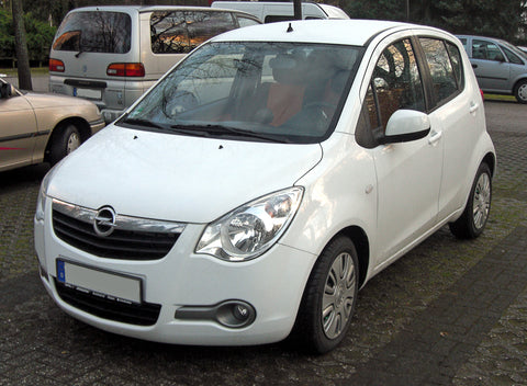 2013 Opel Agila Service Repair Manual
