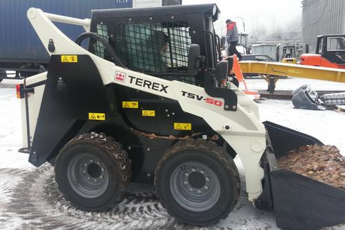 2013 Terex TSV50 60 Skid Steer Loader Parts Catalog Manual