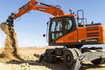 2014 Doosan DX140W-5, DX160W-5 Wheeled Excavator Workshop Service Repair Manual