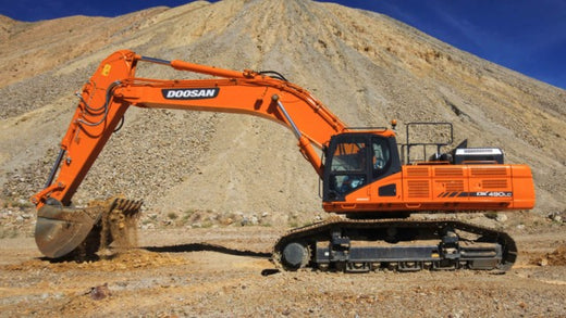 2014 Doosan DX490LC-5, DX530LC-5 Crawled Excavator Workshop Service Repair Manual
