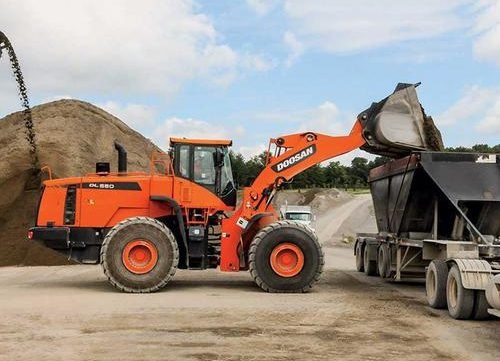2015 Doosan DL550-5 Wheel Loader Workshop Service Repair Manual