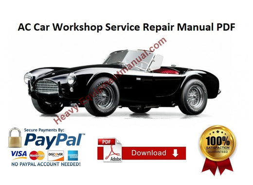 Corvette 305 327 350 396 427 454 1965 Factory Service Manual Download