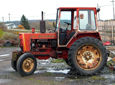 BELARUS 611 series Tractor Factory Service Repair Manual