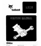 BOBCAT 1213 SKID STEER LOADER SERVICE REPAIR MANUAL