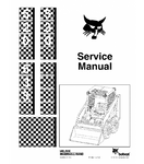 BOBCAT 520, 530, 533 SKID STEER LOADER SERVICE REPAIR MANUAL