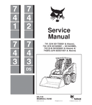BOBCAT 741, 742, 743, 743DS SKID STEER LOADER SERVICE REPAIR MANUAL