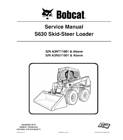 Bobcat Manual Download – Heavy Equipment Manual on