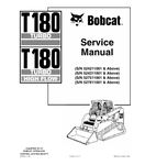 BOBCAT T180 TURBO HIGH FLOW COMPACT TRACK LOADER SERVICE REPAIR MANUAL