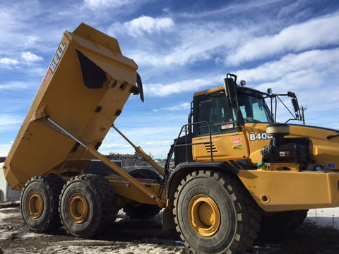 Bell B35D & B40D 6 X 6 ARTICULATED DUMP TRUCK OPERATION AND TES MANUAL