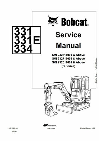 Bobcat Manual Download