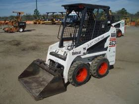 Bobcat 463 (S70) Skid Steer Loader Operating Instructions Manual