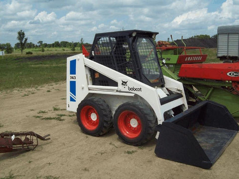 Bobcat 741, 742, 742B, 743, 743B, 743DS Skid Steer Loader Workshop Service Repair Manual