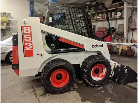 Bobcat 853, 853H Skid Steer Loader Parts Manual