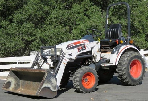 Bobcat CT120 Compact Tractor Service Repair Manual