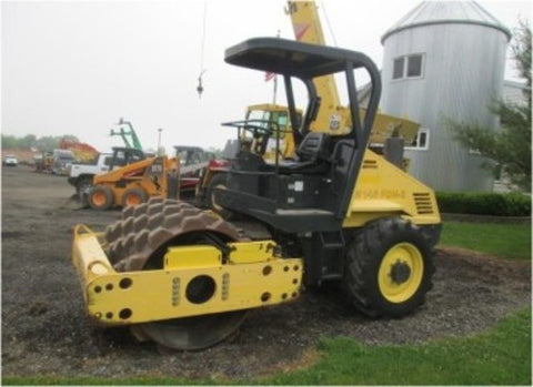 Bomag BW145D-3 service training and instruction for repair manual