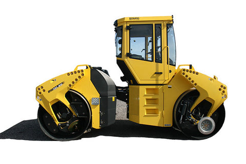 Bomag BW151AC-4 service training operation & parts manuals download