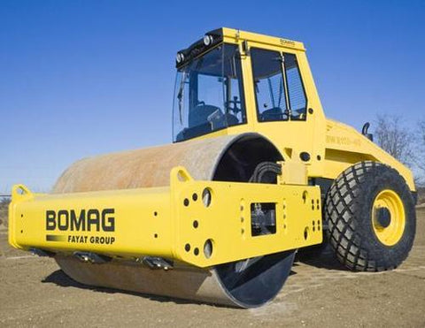 Bomag BW211D-40 service training manual and operators manual download