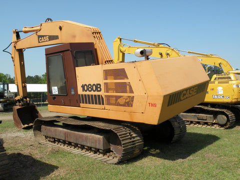 CASE 1080 1080B CRAWLER EXCAVATOR WORKSHOP SERVICE REPAIR MANUAL 8-42681RO