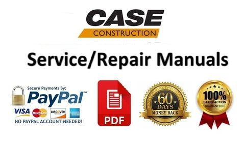 Case 600 Terratrac Dozer Service Repair Manual PDF