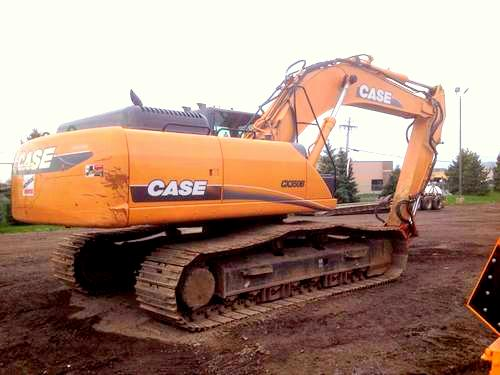 CASE CX350B CX370B EXCAVATOR SERVICE REPAIR MANUAL PDF