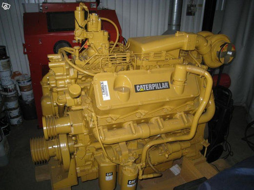 CATERPILLAR 3408B INDUSTRIAL ENGINE OPERATION AND MAINTENANCE MANUAL