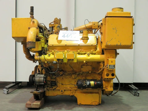 CATERPILLAR 3408C INDUSTRIAL ENGINE OPERATION AND MAINTENANCE MANUAL
