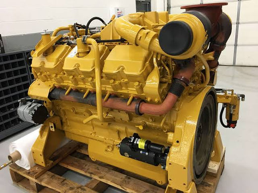 CATERPILLAR 3412E REMAN ENGINE SERVICE REPAIR MANUAL