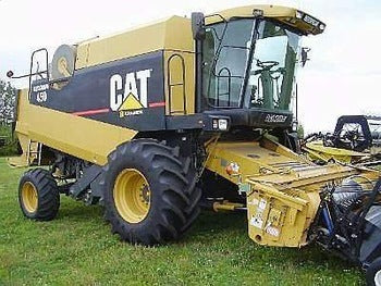 CATERPILLAR 450 COMBINE PARTS CATALOG MANUAL