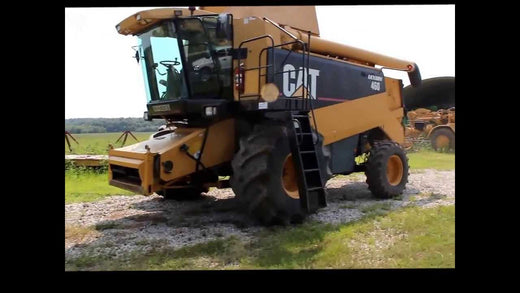 CATERPILLAR 460R COMBINE HARVESTER OPERATION AND MAINTENANCE MANUAL