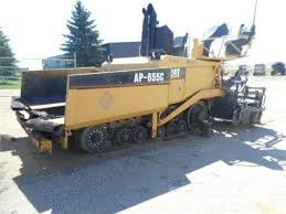 CATERPILLAR AP-655C ASPHALT PAVER PARTS CATALOG MANUAL