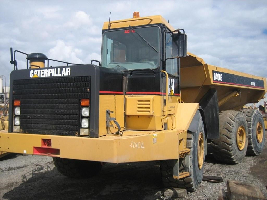 CATERPILLAR D400E ARTICULATED TRUCK SERVICE REPAIR MANUAL