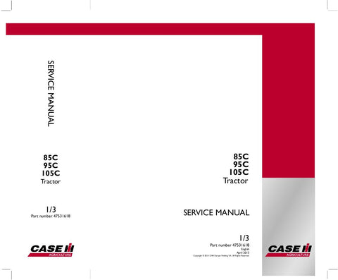Case IH Farmall 85C 95C 105C Tractor Service Repair Manual 47531618