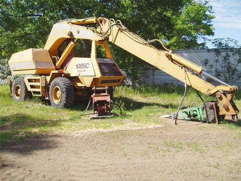 Case 1085C Excavator Workshop Service Repair Manual Download