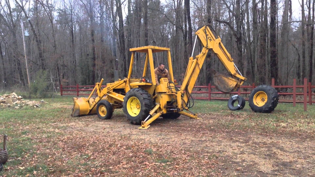 Case 480B Tractor Loader Backhoe Service Manual Download