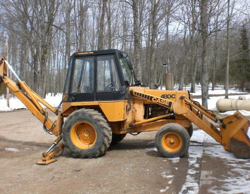 Case 480C Tractor Loader Backhoe Service Manual Download