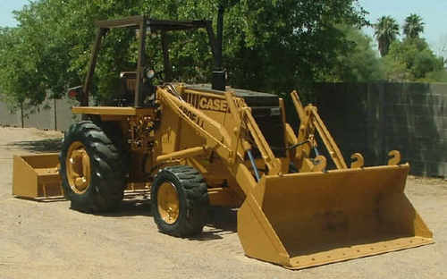 Case 480F, 480FLL Tractor Loader Backhoe Service Manual Download