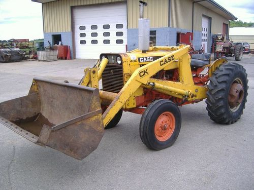 Case 480, 480CK Tractor Loader Backhoe Service Manual Download