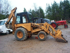 Case 580B Tractor Loader Backhoe Service Manual Download