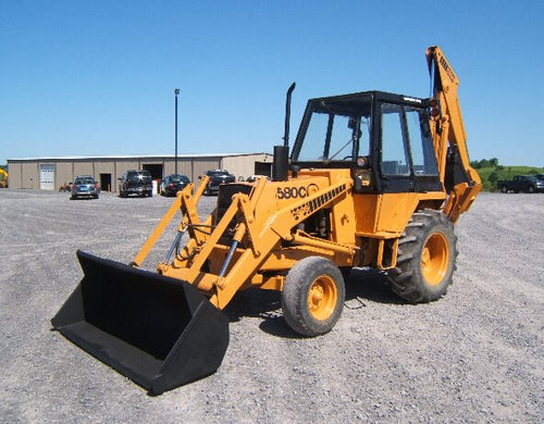 Case 580C Backhoe Loader Workshop Service Repair Manual Download
