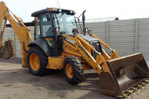Case 580SR, 580SR+, 590SR, 695SR SERIES 3 Loader Backhoe Operators Manual