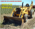 Case 580CK Tractor Loader Backhoe & Forklift Service Manual Download