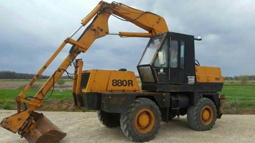 Case 880R Wheel Excavator Workshop Service Repair Manual Download