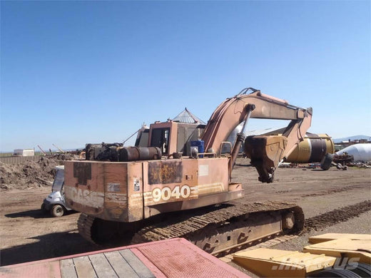 Case 9040 Excavator Workshop Service Repair Manual Download