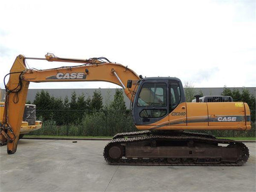 Case CX240 Crawler Excavator Workshop Service Repair Manual Download
