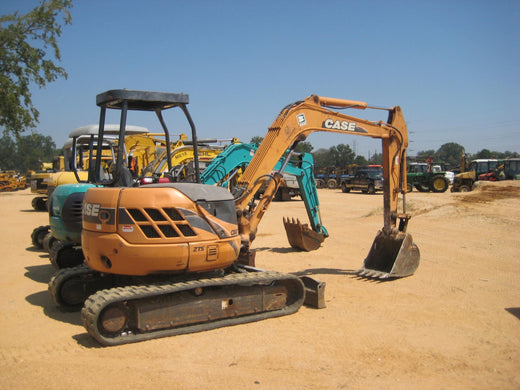 Case CX47 Hydraulic Excavator Workshop Service Repair Manual Download