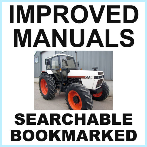 Case David Brown 1494 Tractor Factory Service Repair Manual & the Shop Manual - IMPROVED - DOWNLOAD