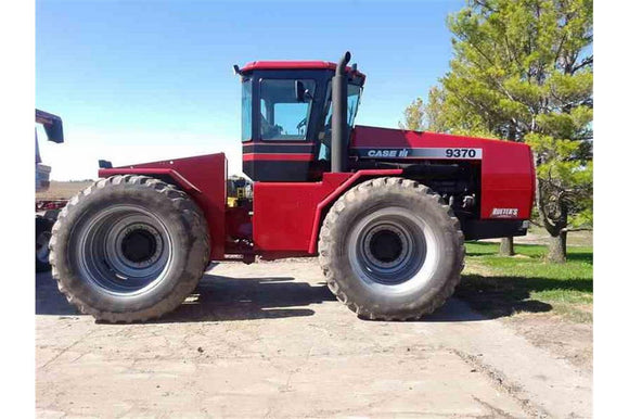 Case IH 9370, 9380, 9390 Wheel Quadtrac Tractor Service Repair Manual PDF